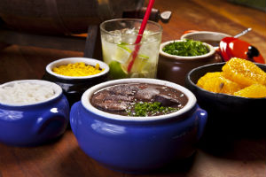Brazilian food Feijoada